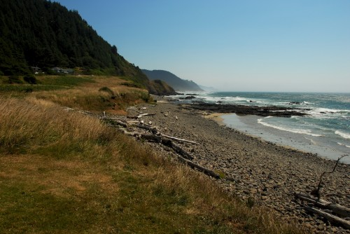 cape perpetua shore