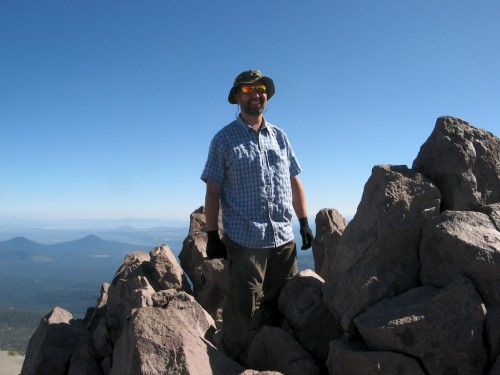 lassen peak me at top