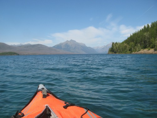lake mcdonald kayak