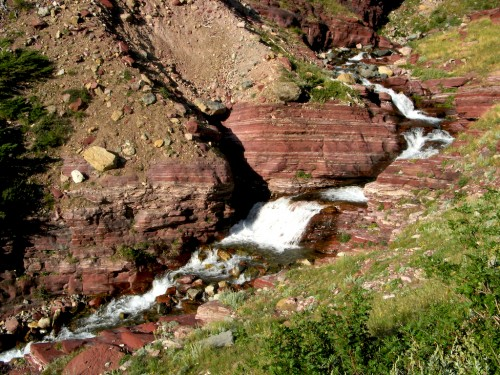 siyeh-pass_baring-creek-cascade