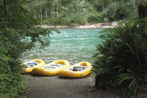 skagit river rafts