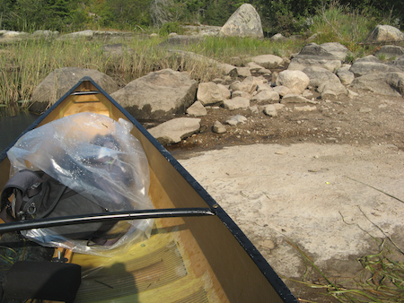 bwca_land-the-canoe