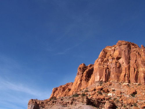 capitol-reef-chimney-rock 11