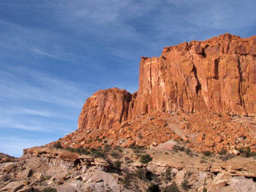 capitol-reef-chimney-rock 4